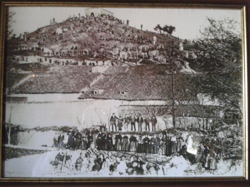 Cerro de San Jorge a principios del siglo XX